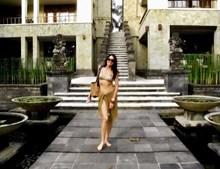 Viúva em férias de luxo