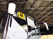 Autocarro de transporte escolar