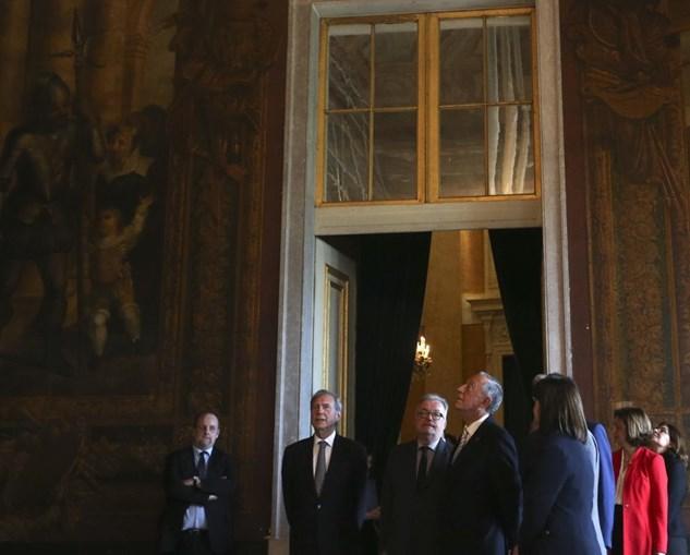 Marcelo no Palácio Nacional da Ajuda