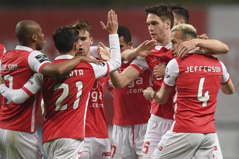 Braga bateu Marítimo em jogo da I Liga