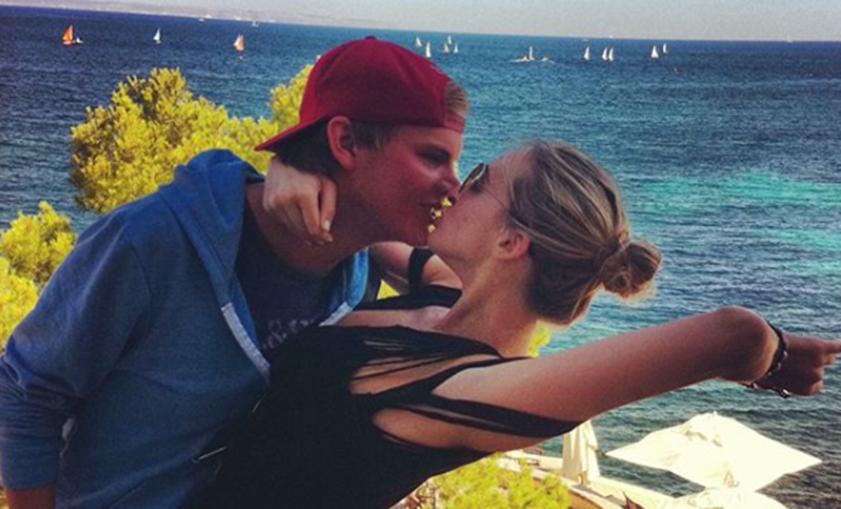 Avicii e a ex-namorada Emily Goldberg