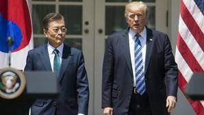 Presidente sul-coreano quer Nobel da Paz para Trump