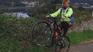 Ciclista atropelado a caminho de Santiago