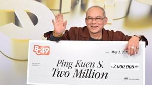 Ganha a lotaria no mesmo dia em que celebra aniversário e reforma