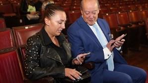 Pinto da Costa no teatro com ex-namorada
