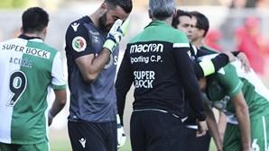 Rui Patrício chora derrota, Jesus amparado por Marcelo