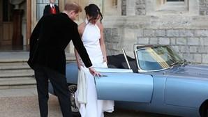 Jaguar E-Type eléctrico brilhou no casamento real
