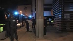 Momentos de tensão após saída do tribunal dos 23 invasores a Academia do Sporting