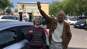 Casal de idosos encontra o carro uma semana depois de o ter perdido