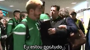 Imagens inéditas revelam ameaças aos jogadores no Aeroporto da Madeira