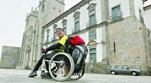 Edgar Silva, de 55 anos, cumpre a última de três etapas da peregrinação