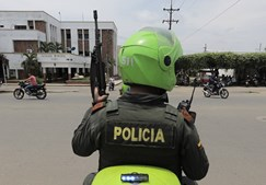 Polícia venezuelana