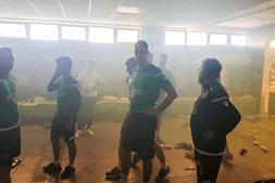 Balneário do Sporting foi vandalizado