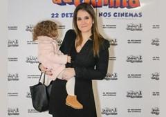 Cláudia Dias Gomes com a filha