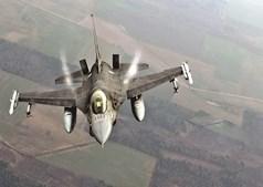 Avião F16 da Força Aérea