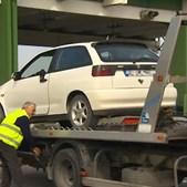 Viatura que atropelou peregrino em Alcanena despistou-se na portagem da A23