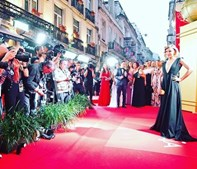 Joana Solnado na 'red carpet'
