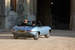 Jaguar E-Type eléctrico brilhou no casamento real de Harry e Meghan