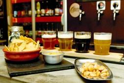 Cervejaria Armazém da Cerveja, no Porto