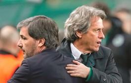 Bruno de Carvalho e Jorge Jesus
