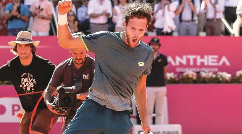 Resultado de imagem para Histórico: João Sousa conquista o Estoril Open