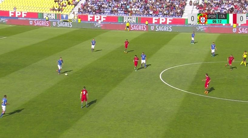 Portugal bate Itália por 3-2 em jogo particular dos Sub 21 - Futebol ... ddb1dc90a66a7