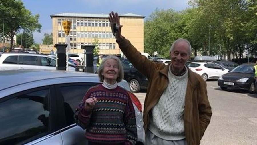 Hilda e Emmanuel