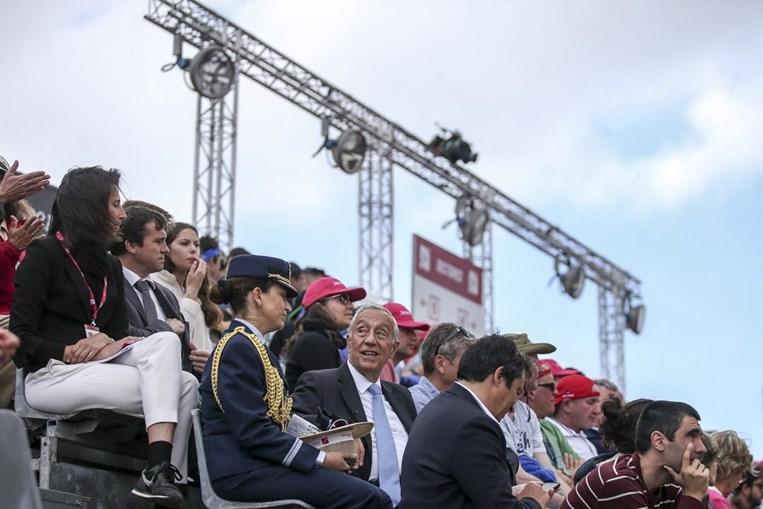 Marcelo Rebelo de Sousa faz visita inesperada ao Estoril Open