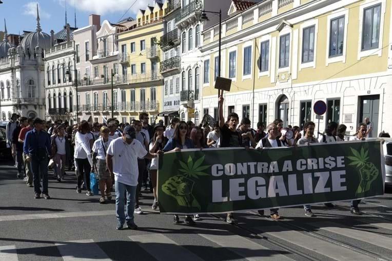 Marcha a favor da Marijuana