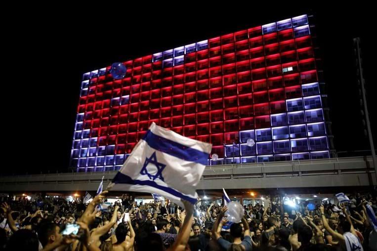 Milhares saíram às ruas em Israel para celebrar vitória na Eurovisão