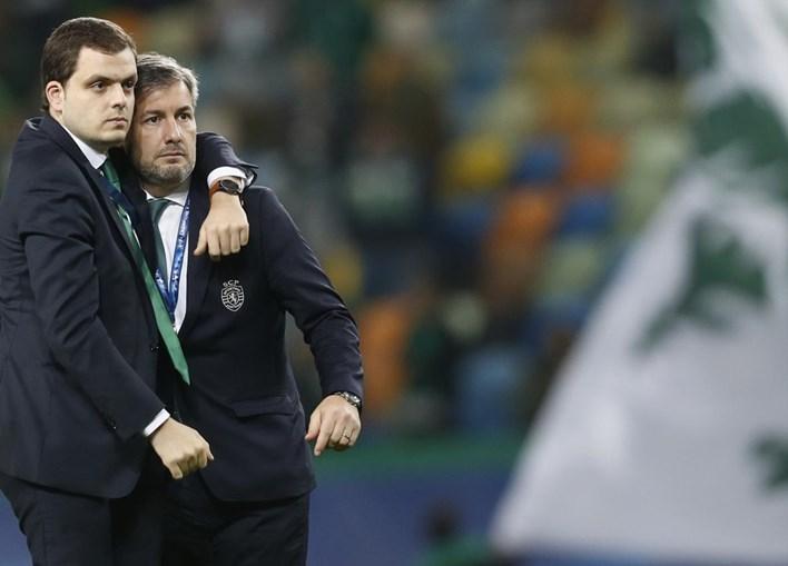 André Geraldes e Bruno de Carvalho