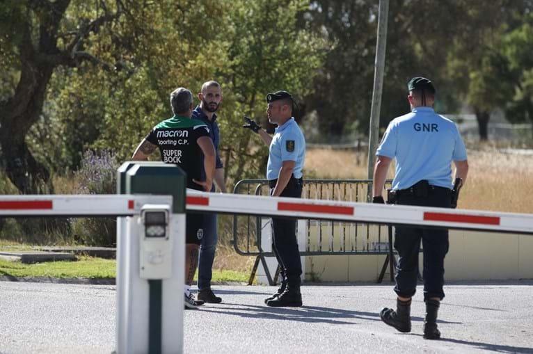 GNR na academia do Sporting após agressões brutais a jogadores e treinadores