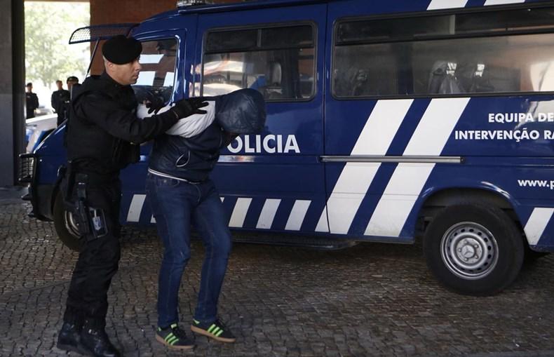 Suspeitos do ataque ao Sporting em Alcochete no Tribunal do Barreiro