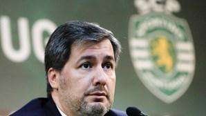 SMS de Bruno de Carvalho incendeia balneário do Sporting