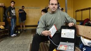 Professor salva aluno no balneário da escola em Mangualde