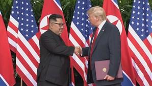 """EUA e Coreia do Norte em nova cimeira """"o mais breve possível"""""""