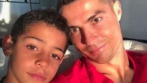 Ronaldo celebra aniversário de Cristianinho