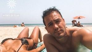 Pedro Teixeira mostra corpo de sonho de Sara Matos