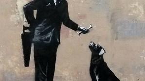 Exposição de obras de Banksy chega a Lisboa