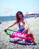 Ana Moura foi à Rússia o ver o Mundial