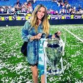 A modelo Claudia Ruiz é filha de Hierro, selecionador de Espanha