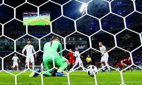 De Gea foi mal batido no segundo golo de Cristiano Ronaldo