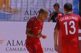 Portugal vence Mundialito de futebol de praia
