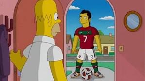 Participação de Cristiano Ronaldo na série Simpsons