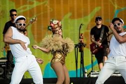 Atuação de Anitta no segundo dia do festival Rock in Rio