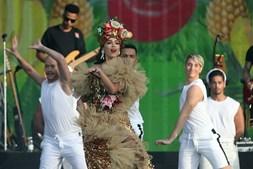 Anitta no Palco Mundo do Rock in Rio Lisboa pela primeira vez