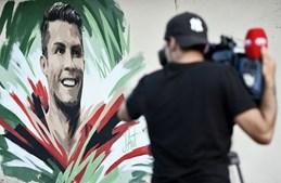 Ronaldo homenageado em Saransk