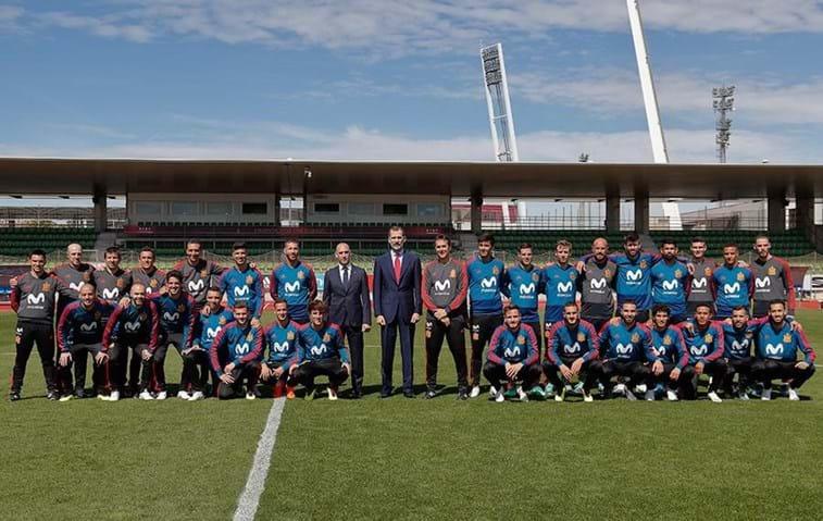 6ece1ec9ae 884 mil euros para cada jogador da seleção espanhola - Mundial 2018 ...
