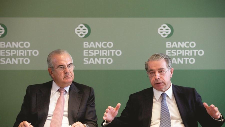 José Manuel Espírito Santo e Ricardo Salgado