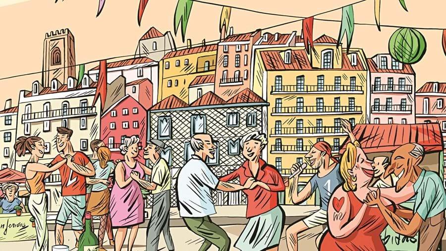 Um mês a 'vadiar' nas festas de Lisboa